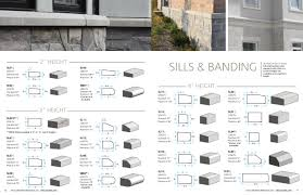 ed s concrete products architectural precast sills banding