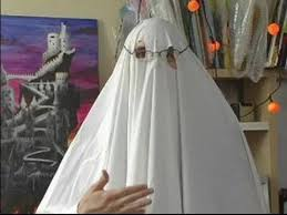 ghost costume how to make a ghost costume tips for breathing in a