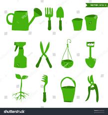 gardening tools set stock vector 99489167 shutterstock