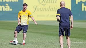 Lionel Messi Leg Barca S Messi Returns To C Rediff Sports