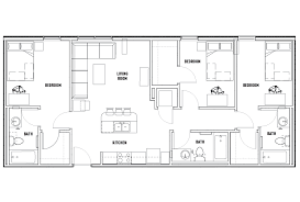 floor plans the callaway house austin student housing austin tx