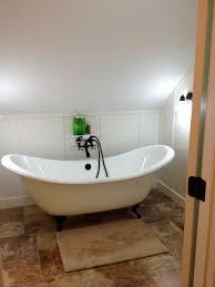 impressive small slipper tub bath shower exciting stand alone tubs