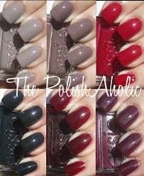 the polishaholic essie fall 2012 stylenomics collection swatches