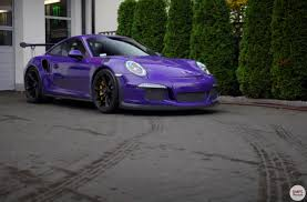 miami blue porsche gt3 rs the first ultraviolet porsche 991 gt3 rs in poland