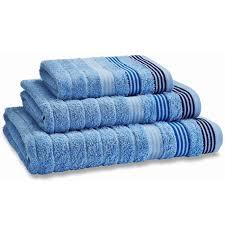 catherine lansfield garrat stripe 100 cotton jacquard towels