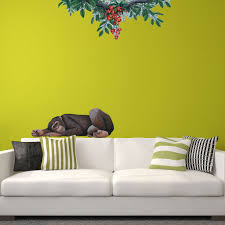 Jungle Wall Decals Chimpanzee Wall Sticker See How You Can Create A Jungle Themed Mural
