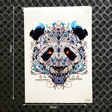 online get cheap bears head wall art aliexpress com alibaba group bear skull head designs tattoo selfie body art arm sleeve tattoo stickers ghb 472 henna beast pattern wall sticker car styling