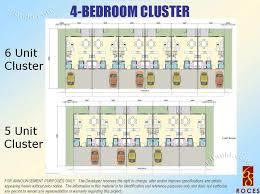 cluster home floor plans real estate home lot sale at 4 bedroom cluster floor plan