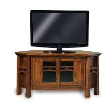 Corner Tv Cabinet For Flat Screens Amish Tv Stands Amish Furniture Shipshewana Furniture Co