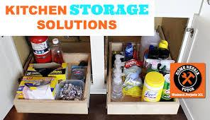kitchen sink storage ideas kitchen storage solutions optimize your cabinets with sliding