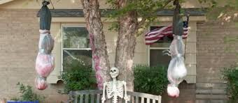 halloween decorations made at home tis the season for offensive halloween yard decorations the