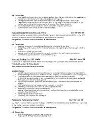 Customer Service Associate Job Description Resume by Veronica Resume 2016