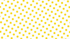 Polka Dot Wallpaper Wallpaper White Polka Dots Spots Yellow Ffffff Ffd700 240 146px