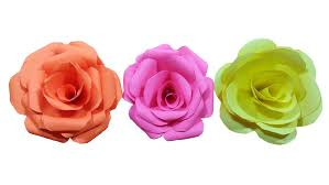 Paper Rose Topiary - how to make paper rose flower very easy hd youtube