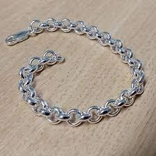 solid sterling silver mens bracelet images Silver belcher bracelet heavy solid sterling silver mens jpg