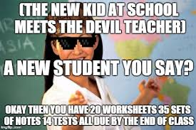 High School Teacher Memes - unhelpful high school teacher meme imgflip