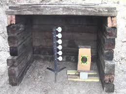 build a small backyard shooting range youtube
