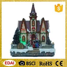 best selling fiber optic post colorful led operated house animated