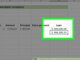 Mortgage Calculator In Excel Template 3 Ways To Create A Mortgage Calculator With Microsoft Excel