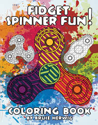 fidget spinner coloring book u2013 bruce herwig u2013 color me redlands