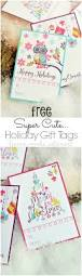 super cute holiday gift tags free printable home made interest