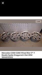 mercedes 17 inch rims mercedes 17 inch rims ebay