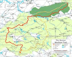 Appalachian Mountains On Map Southeastern Serpentine Trail The Hiking Life