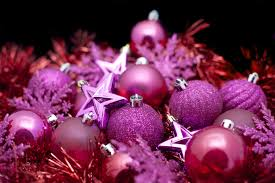 background of pink christmas decorations 6334 stockarch free