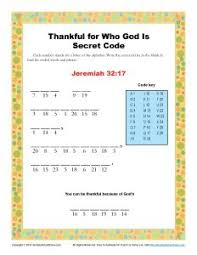 thanksgiving for god s person coded words on sunday school zone