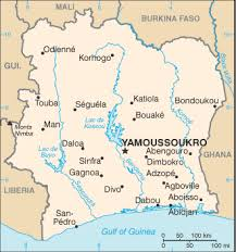 africa map ivory coast the world factbook central intelligence agency
