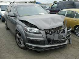 audi q7 for sale in chicago salvage title 2011 audi q7 4dr spor 3 0l 6 for sale in chicago