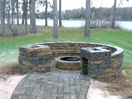 How To Build A Gas Firepit How To Build Outdoor Gas Pit Pit Grill Ideas