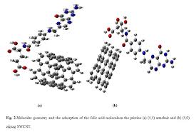 Armchair Zigzag Structural And Electronic Properties Of Folic Acid Adsorption On