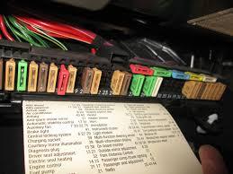 bmw e39 interior glove box fuse box 525i 528i 530i 540i m5 97 98