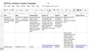 Timeline Spreadsheet Template Excel Timelinessle Timelines Timeline Template For Powerpoint
