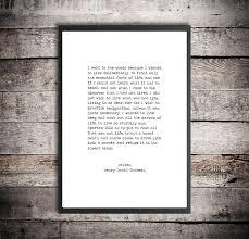 education quotes henry david thoreau henry david thoreau hand typed printable quote u0027walden i