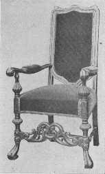 William And Mary Chair The Project Gutenberg Ebook Of Furnishing The Home Of Good Taste