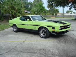 1971 mach 1 mustang i need opinions about this color ford