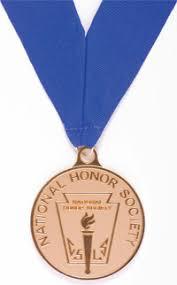graduation medallion graduation attire nhs