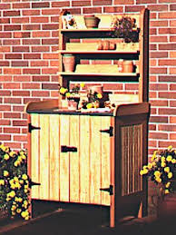 Free Wooden Potting Bench Plans by 95 Best Potting Bench Plans Images On Pinterest Potting Tables