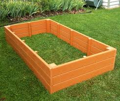 recycled plastic raised garden bed 4 u0027 x 8 u0027 x 16 5