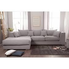 canapé d angle en coton et avec grande méridienne edward