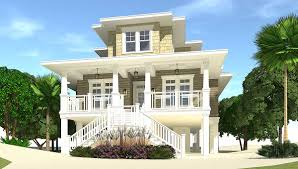house plans on pilings 4 bed piling home plan with great views 44137td architectural