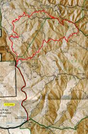 Henry Coe State Park Map by Henry Coe Jackson And Dexter Trails Bay Area Mountain Bike Rides