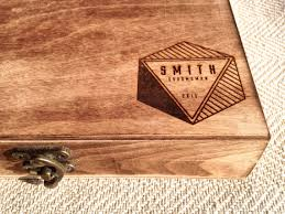 engraved box groomsmen gift box personalized cigar box engraved 2222578