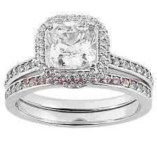 engagement rings set 14k gold unique engagement ring set 1 19ct
