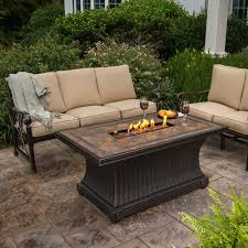Agio Patio Chairs by Agio Vienna Gas Fire Pit Tile Fire Table Starfire Direct