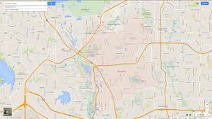 Sunnyvale Zip Code Map by Carrollton Texas Map