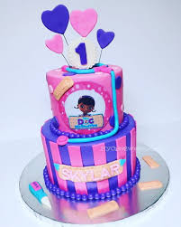doc mcstuffins birthday cakes doc mcstuffins 1st birthday cake cakecentral