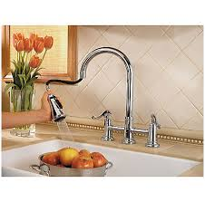 Price Pfister Ashfield Kitchen Faucet by Polished Chrome Ashfield 2 Handle Pull Kitchen Faucet